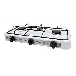 Настільна газова плита-таганок Mirta GS-1003W на 3 конфорки
