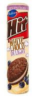 Печенье шоколадное Hit (с черничным кремом), 220 г
