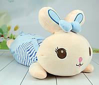 Детская подушка обнимашка зайчик, 60 см., фото 1