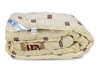 Ковдра особливо тепла овеча вовна бавовняна бязь 140х205 Leleka Textile - Вовняна зима