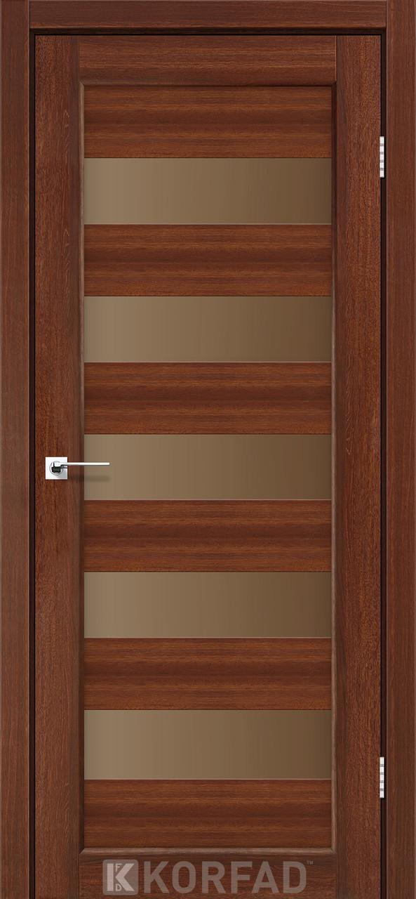 Двері Korfad PR-08 Горіх BR