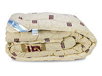 Ковдра особливо тепла овеча вовна бавовняна бязь 200х220 Leleka Textile - Вовняна зима