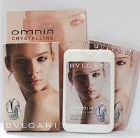 Женские духи-планшет в фоточехле Bvlgari Omnia Crystalline