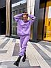 Спортивний костюм жіночий трьох-нитка на флісі S, M, L, XL, фото 2