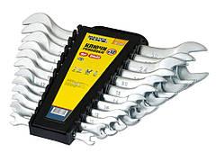 Ключі ріжкові MASTERTOOL набір 12 шт (6х7 to 30х32 мм) SS 70-2112