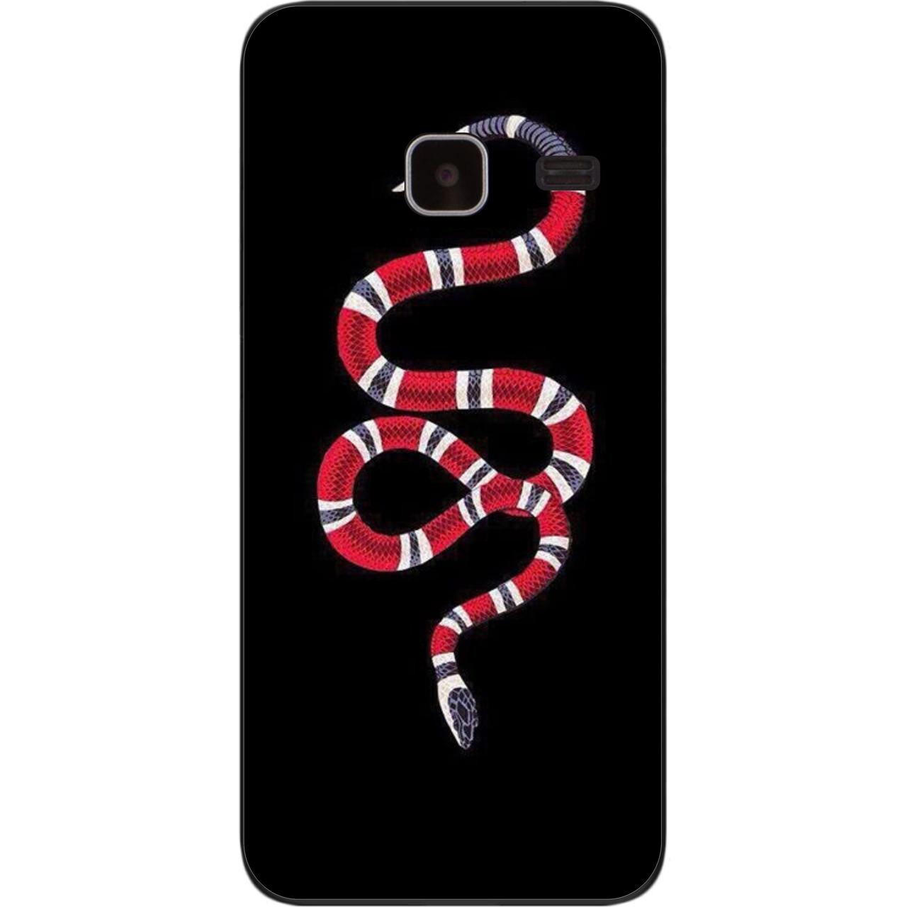 Силіконовий чохол для Samsung Galaxy J1 mini J105 з картинкою Змія