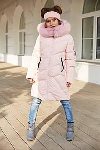 Пальто дитяче Сафіна - Св.розов. 662