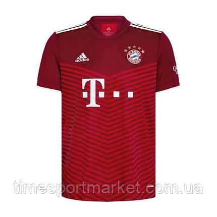 Футбольна форма Баварія Мюнхен домашня 2021-2022 (ФУТБОЛКА+ШОРТИ), фото 2