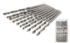 Сверло для металла MASTERTOOL Р6М5 3.2 мм белое 10-1032