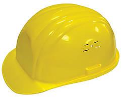 Каска MASTERTOOL (будівельники) жовта 81-1001