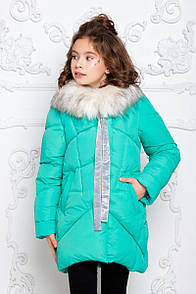 Пальто дитяче Офелія - Бірюза  626