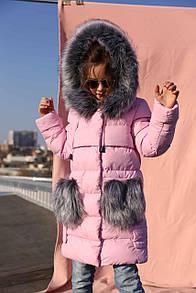 Пальто дитяче ПолианнаNT - Св.рожевий  10