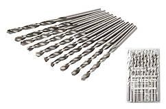 Сверло для металла MASTERTOOL Р6М5 6.2 мм белое 10-1062