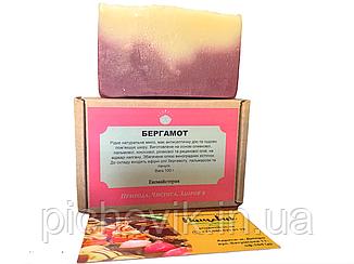 Натуральне мило Бергамотове/Bergamot(Україна) Вага:100 грам
