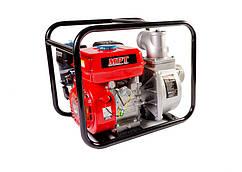 Мотопомпа бензиновая 4-хтактная MPT 5200 Вт/7 л.с. 212 см³ вход/выход 80 мм 60 м³/ч MGWP80
