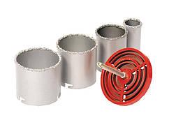 Набор корончатых сверл GRANITE для плитки 4 шт 33-73 мм вольфрамовое напыление 2-08-004