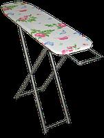 Доска для глажки, деревянный стол с подставкой для утюга, 110х30 см