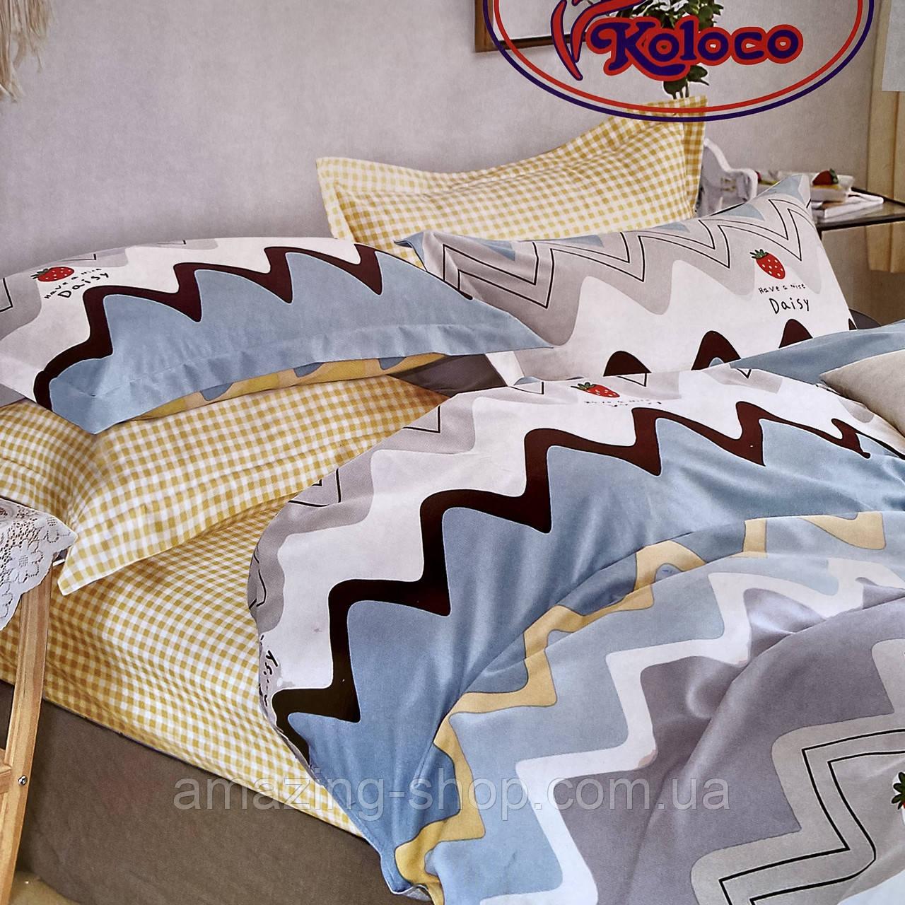 Комплект постільної білизни з фланелі Розмір полуторний 150 * 210