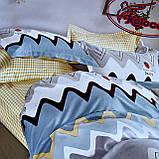 Комплект постільної білизни з фланелі Розмір полуторний 150 * 210, фото 4