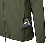 Куртка Helikon-Тех URBAN HYBRID SOFTSHELL Jacket, Taiga Green, фото 7