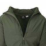Куртка Helikon-Тех URBAN HYBRID SOFTSHELL Jacket, Taiga Green, фото 5