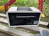 Немецкое интернет радио, радио онлайн, радио через интернет  Auna connect 150 цвет белый, фото 4