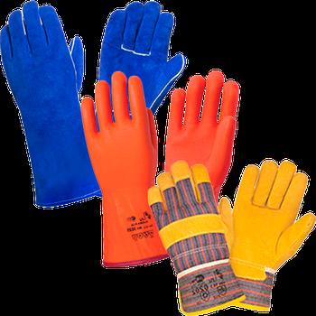 Рукавиці та рукавички будівельні