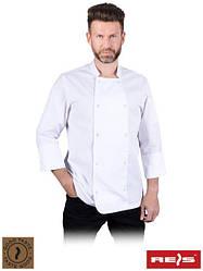 Мужская блуза для шеф-повара с длинными рукавами MEZZO W