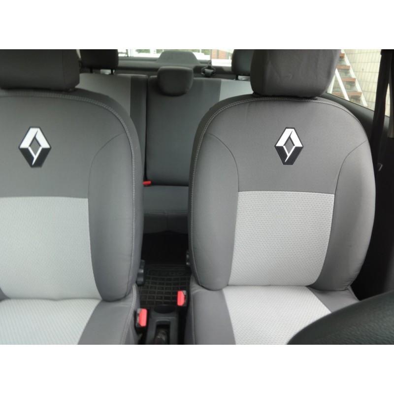 Авточохли Renault Logan Sedan (з підлокітником) з 2018 р