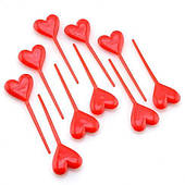 Пика для канапе Сердце 1502-0690