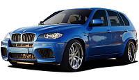 Комплект обвеса BMW X5 E70 X5M style Dual exhaut