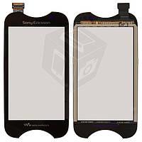 Touchscreen (сенсорный экран) для Sony Ericsson WT13, оригинал (черный)