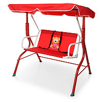 Качели садовые для детей Bambi YH-E118-3 Красный