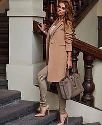 Демисезонное женское кашемировое пальто