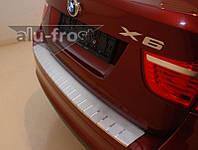 Накладка на задний бампер BMW Х6 е71