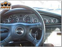 Кольца на приборы Audi 100 С4 / A6 C4 (7 колец)21audi100