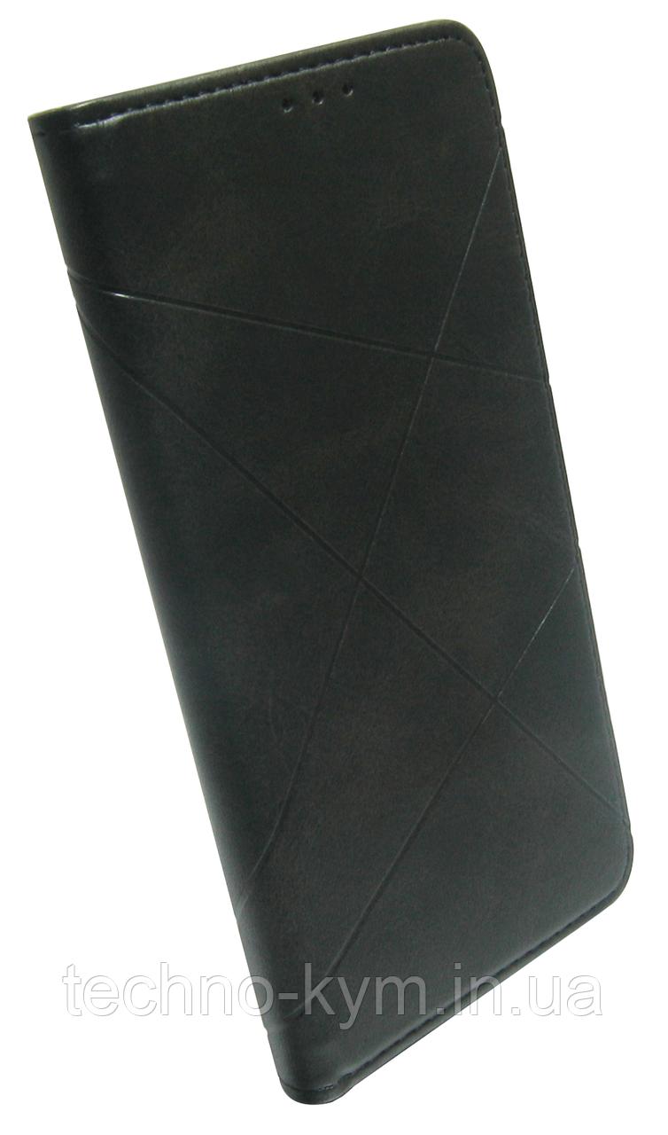 Чохол-книжка Xiaomi Redmi Note 9 black Business Leather