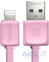 USB кабель REMAX Fast Data Cable for Apple Pink