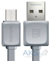 USB кабель REMAX Fast Data Cable for micro-USB Grey