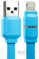 USB кабель REMAX Breathe Cable for Apple Blue