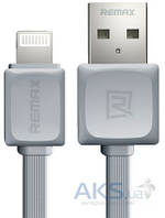 USB кабель REMAX Fast Data Cable for Apple Grey