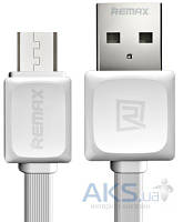 USB кабель REMAX Fast Data Cable micro-USB White