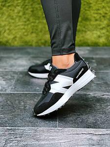 Женские кроссовки Balance 327 Black/White