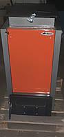 Твердотопливный котел Bizon FS-8 Eko Termo, 8 кВт, длительного горения, шахтного типа (Холмова), верх. загр.
