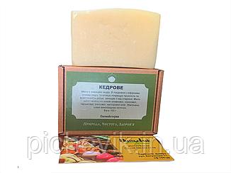 Натуральне мило Кедрове/Cedar(Україна) Вага:100 грам