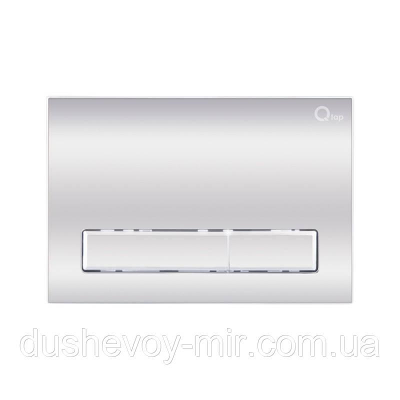 Панель смыва для унитаза Qtap Nest QT0111M08381CRM