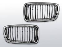 Решетка радиатора BMW E38, Хром