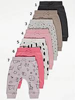 Різноманітні трикотажні джогери для дівчинки Джордж (поштучно), фото 1