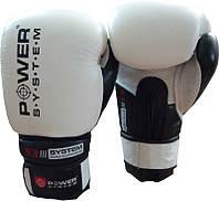 Боксерские перчатки белые