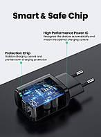 Высококачественный Зарядное устройство USB Ugreen 5V 2.1A (Черный)